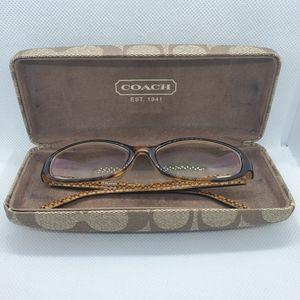 Coach Cora Tortoise Prescription Glasses Frames